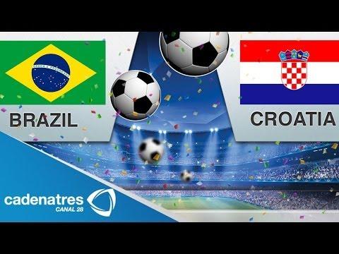 Brasil vs Croacia, duelo que marca el inicio de la Copa Mundial de Futbol