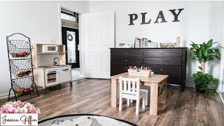 PLAYROOM TOUR & ORGANIZATION // MINIMALIST // MONTESSORI INSPIRED