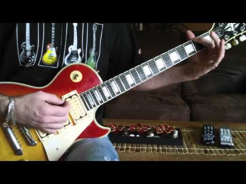 ACE FREHLEY - AceFrehleyLesPaul.com - Shock Me - Lesson #4 (Alive II Guitar Solo) - Ep. 11 / 18Dec11
