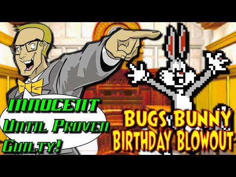 Bugs Bunny Birthday Blowout (NES/Nintendo) - INNOCENT Until Proven Guilty!