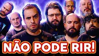 NÃO PODE RIR! com Jovem Nerd, Azaghal, Sr. K, Gustavo Chagas e Totoro