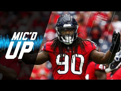 "Jadeveon Clowney Mic'd Up vs. 49ers ""He The Toe-Drag King, Outside of ME"" 