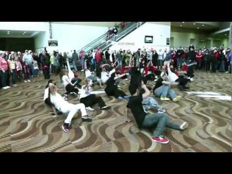 City Dance Peoria Flash Mob - Illinois State University vs. Bradley University