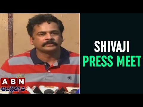Hero Sivaji Press Meet over AP Special Status | Vijayawada | ABN Telugu