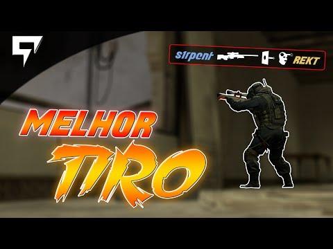 """CS:GO - """"MELHOR TIRO DA MINHA VIDA!"""""""