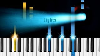 BTS - 'Lights' - Piano Tutorial / Piano Cover