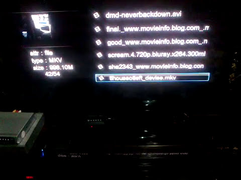 Full HD media player 1080p quality test *Dealextreme*