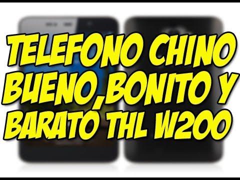 Review potente telefono chino con android THL W 200