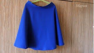 Шьем вместе: юбка полусолнце