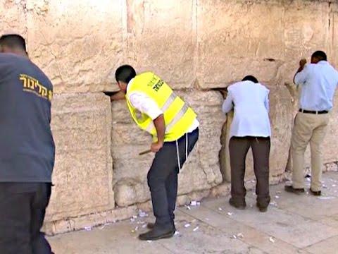 Стену Плача в Израиле приводят в порядок (новости)
