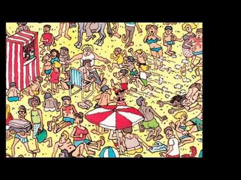 Где Уолли? 2 уровень. Where's Wally? 2 level