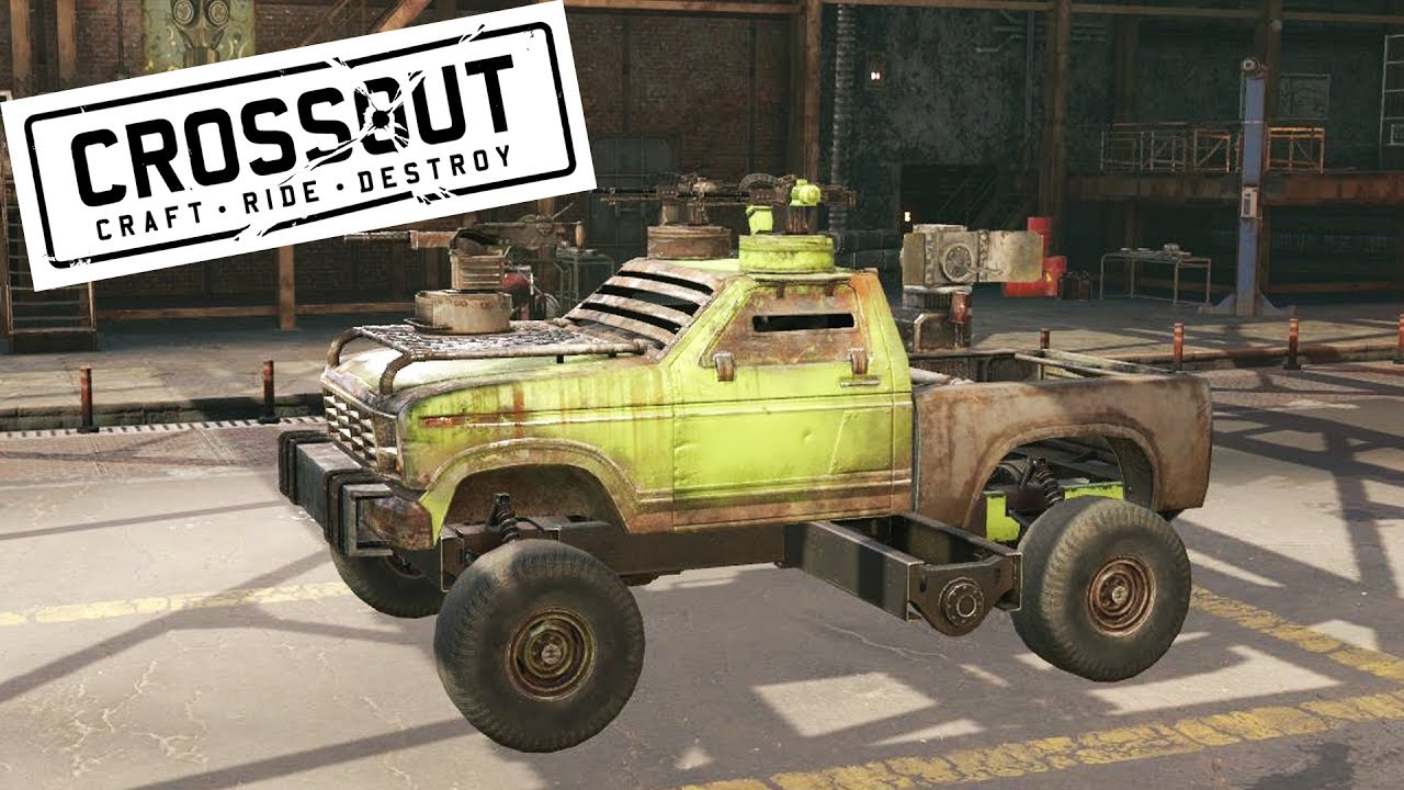 Онлайн игра про машины в будущем crossout