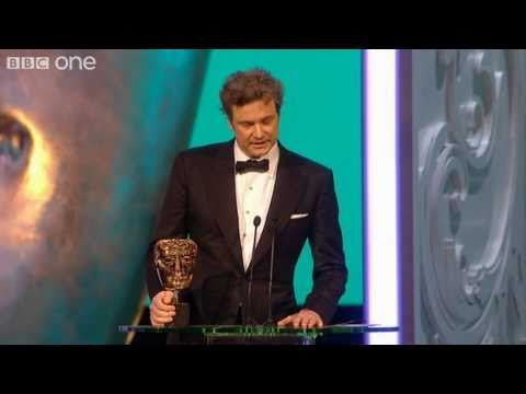 Colin Firth's Best Actor BAFTA Speech - The British Academy Film Awards 2011 - BBC One