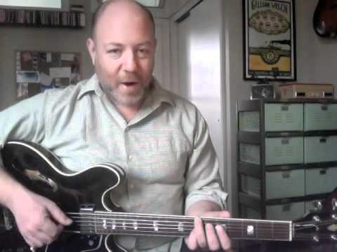 50 Low-Down Rhythm Licks - #4 Walking Bass Blues - Guitar Lesson - Adam Levy