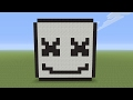 Minecraft Pixel Art - Marshmello