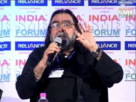 Prahlad Kakkar on Branding & Marketing for SMEs in India at the India SME Forum 2012