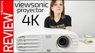 Viewsonic proyector 4K -SERIES, JUEGOS y FUTBOL a lo grande-