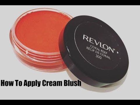 How to Apply Cream Blush Revlon First Impression Review   Blush Brush and Blow Dry