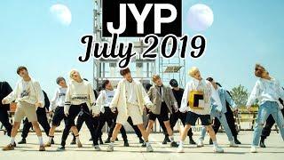[TOP 66] Most Viewed JYP Kpop MVs [July 2019]