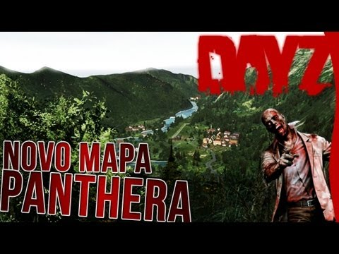 DayZ Panthera Novo Mapa