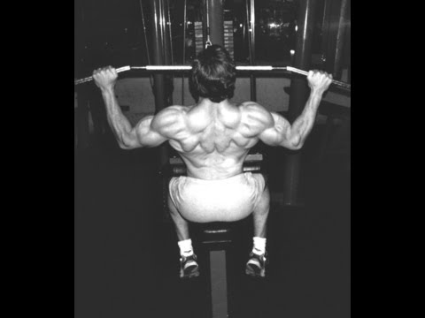 Back Workout and Lat Workout-Training Back - Lat Pulldown -Train Lats
