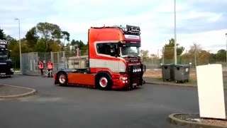 4 coole Scania in Le Mans