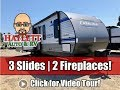 UPDATED 2020 Catalina 333RETS Triple Slide Washer Dryer Ready Coachmen Travel Trailer