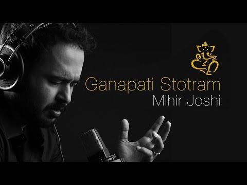 GANPATI STOTRAM WITH LYRICS - MIHIR JOSHI | Ganesh Mantra | Times Music Spiritual