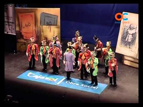 Comparsa - Medio Siglo \ Actuación Completa en PRELIMINARES \ Carnaval 2010