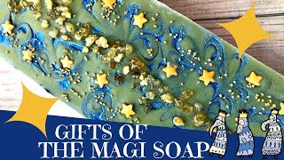 Making of Gifts of the Magi Cold Process Soap | 🌟  GYPSYFAE CREATIONS