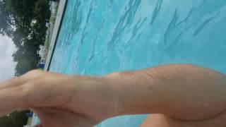 Galaxy S8 Temdan Waterproof Case 1080p 60fps underwater Video Test