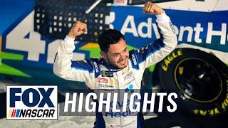 Kyle Larson wins the 2019 NASCAR All-Star Race | NASCAR ON FOX HIGHLIGHTS