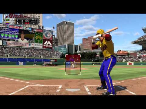 MLB 15 THE SHOW PS4 2016 WORLD BASEBALL CLASSIC  GROUP B--#16 COLOMBIA  5  #12 BRAZIL  1