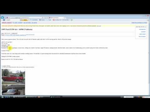 Craigslist Cars Valdosta Georgia - YouTube