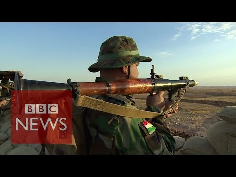 Kurdish weapons 'no match' for Islamic State