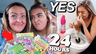 I Said Yes To EVERYTHING My MUM Said for 24 HOURS! *HILARIOUS*