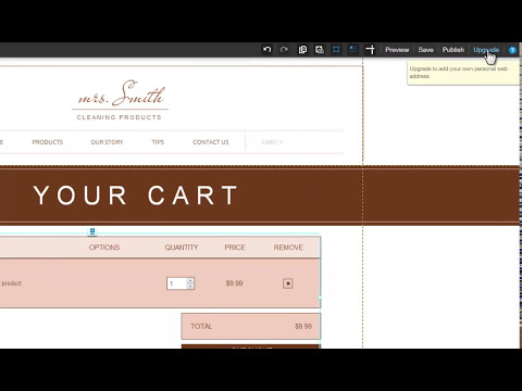 HTML Website Builder | Introducing the Wix Online Store