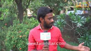 Chezhiyan Muthu At I Love You Amma Short Film Screening