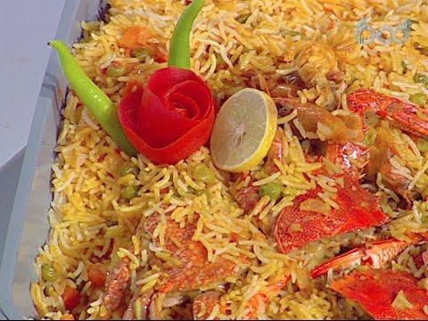 طريقة عمل أرز بايلا بالسي فوود على طريقة الشيف #محمود_عطيه من برنامج #سهل_وبسيط #فوود