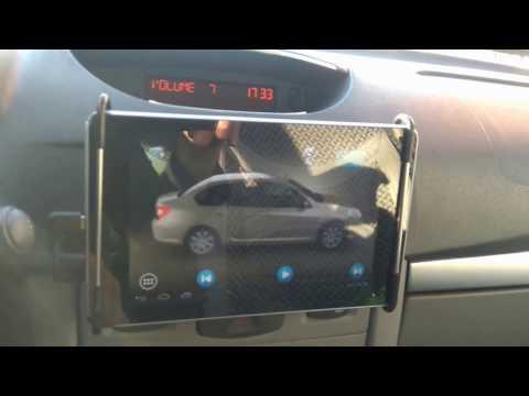 1-) Renault Symbol 2011 Tablet Montajı