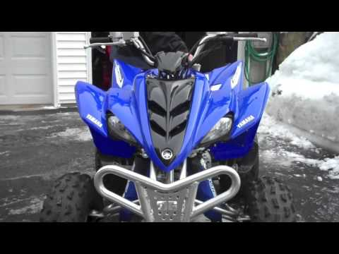 Yamaha Raptor 350 walk-around/Review  The Quad is a Rocket!