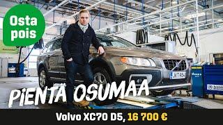 Käytetty: Volvo XC70 D5 AWD (16 700 €) - Pientä osumaa