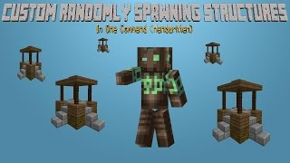 Minecraft - Custom Randomly Spawning Structures [One Command] [Handwritten]