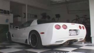 C5 Corvette mufflers vs no mufflers