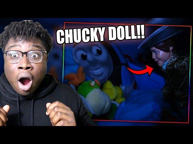 KEN DOLL GOES CHUCKY AT 3AM! | SML Movie: Spoken Reaction!