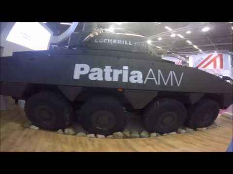 The Cockerill 3000 Turret & Patria AMV