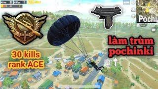 PUBG Mobile - Solo Squad Rank ACE Với 30 Kills   Combo Cực Độc Làm Trùm Pochinki