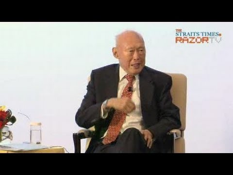 MM Lee dialogue on China & Singapore relations (Pt 2)
