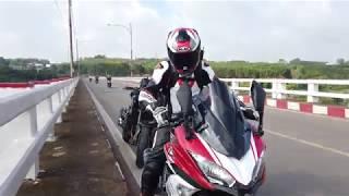 Kawasaki Ninja 650 - Tour ngắn hồ Trị An, gạ đua Z9 và cái kết đắng.