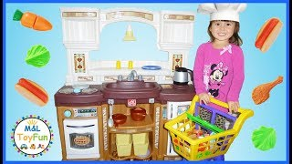 Step 2 Play Kitchen Pretend Play Food Toys Cooking Playtime Velcro Cutting Food ML ToyFun